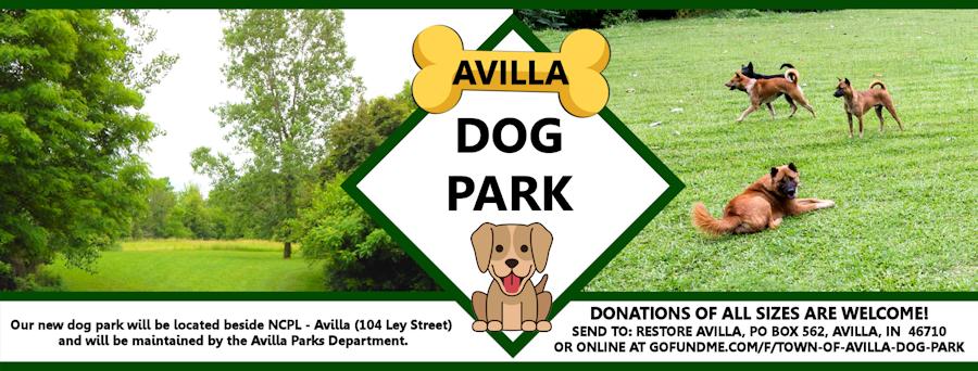2020 Dog Park In Avilla Banner DMK