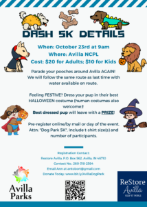 Fall Dash for the Dog Park 5K